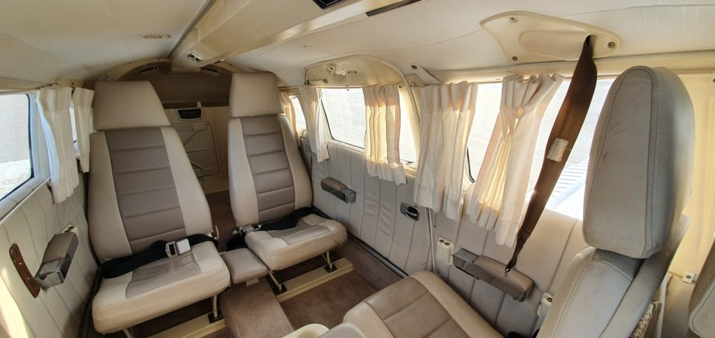 Turbo Lance Interior Aces High Aviation 3501 N Lakewood Blvd Long Beach 90808