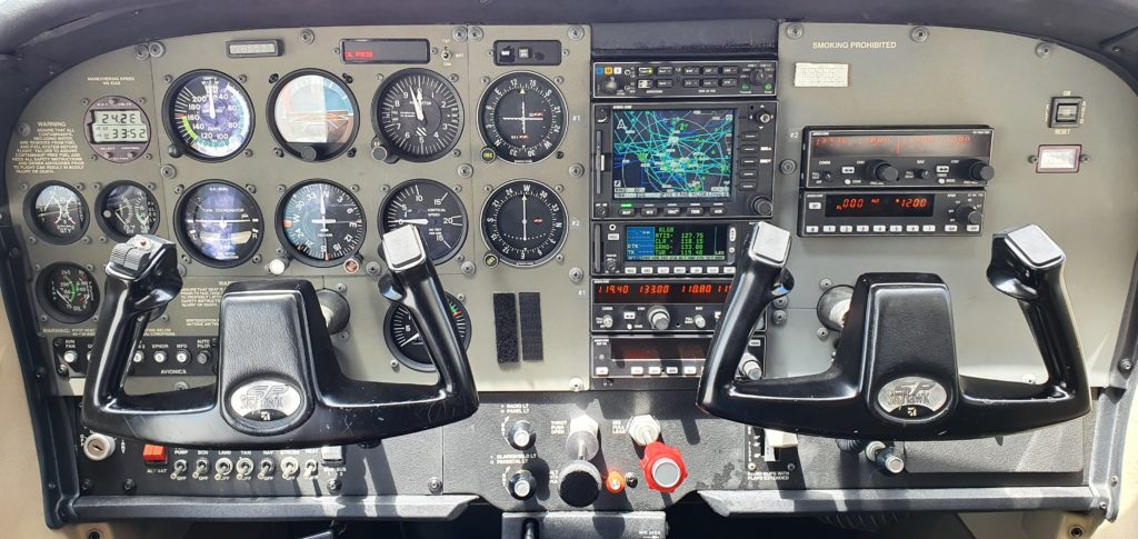 N65537 Panel Aces High Aviation