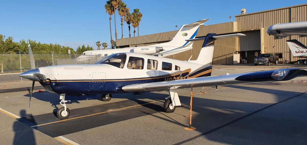 PA-32RT-300T Turbo Lance for Rental Aces high Aviation Long beach 90808