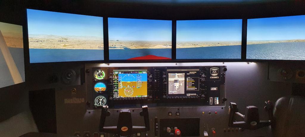 MCX Redbird G1000 Panel